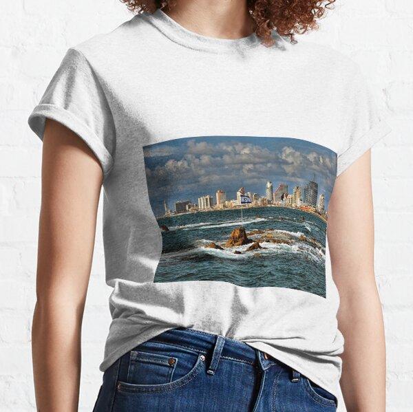 Tel Aviv shoreline Classic T-Shirt