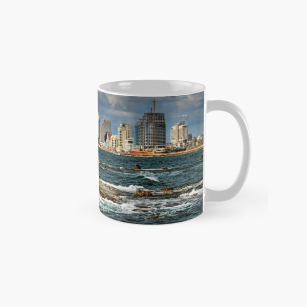 Tel Aviv shoreline Classic Mug