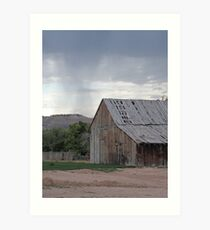 Old Barn on Highway 89 Art Print