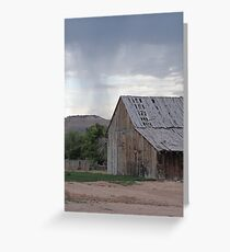 Old Barn on Highway 89 Greeting Card