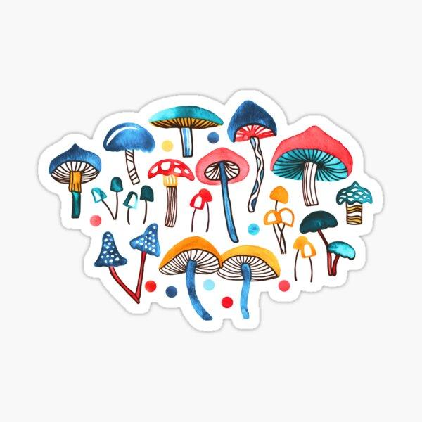 Alice's Mushrooms  Sticker