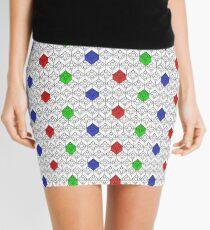 Lego Pattern Mini Skirt