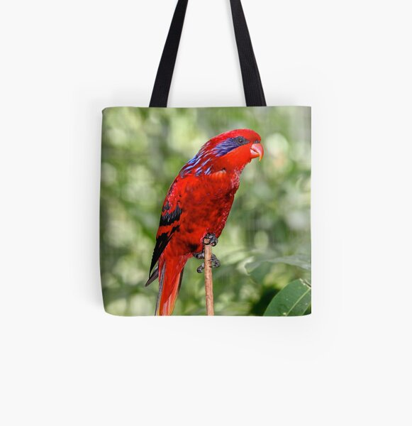 Blue-streaked Lory All Over Print Tote Bag
