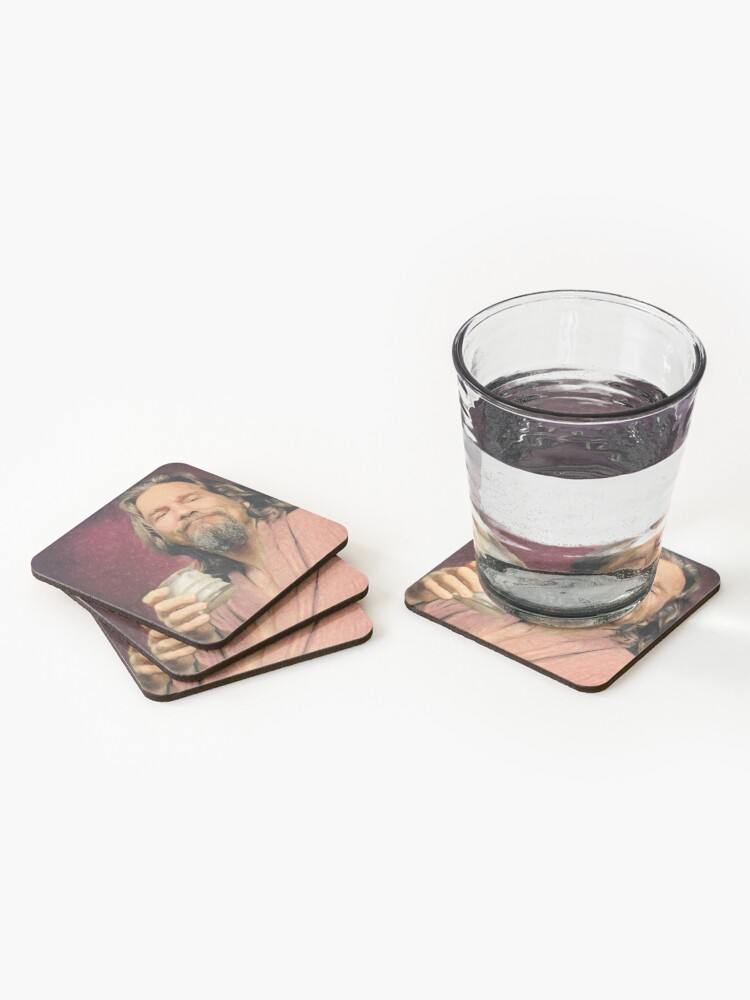 Alternate view of The Dude Coasters (Set of 4)