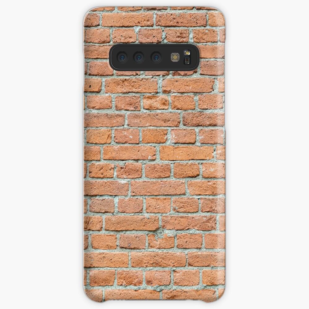 Old worn brick wall Case & Skin for Samsung Galaxy
