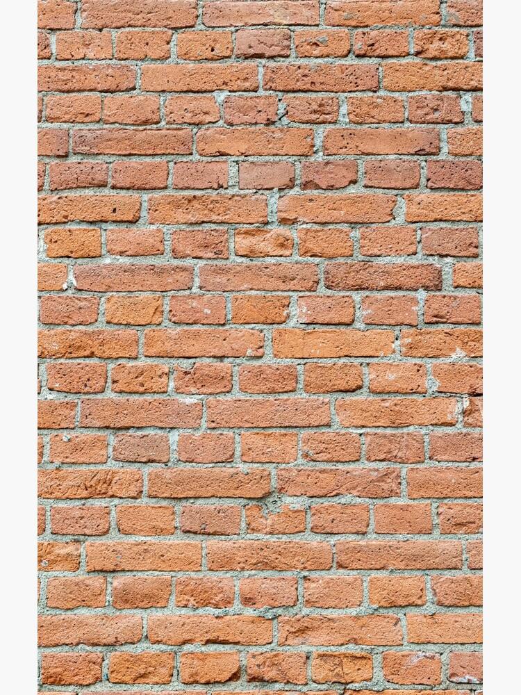 Old worn brick wall by Juhku