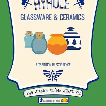 Hyrule Glassware & Ceramics by kmtnewsman