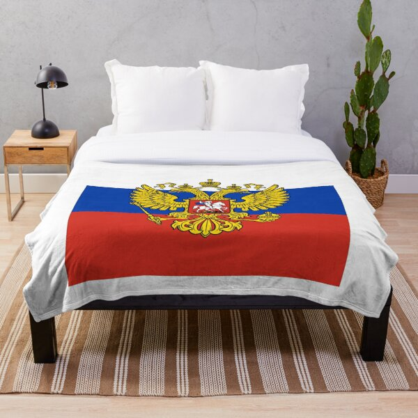 Штандарт Президента #Russian #Presidential #Standard #PresidentialStandard Flag  Throw Blanket