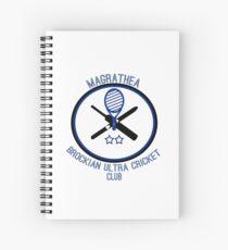 Magrathea Brockian Ultra Cricket Club Spiral Notebook