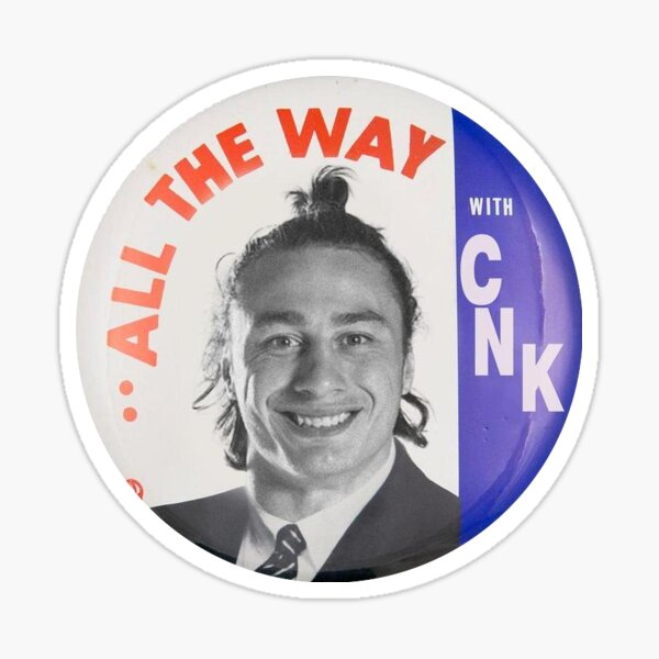 All the way with CNK Sticker