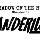 WanderLust Black Logo on White by Shadow of the Run