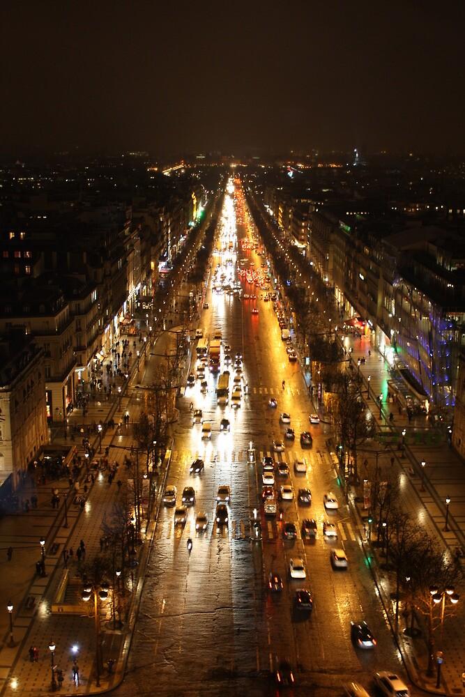 Rush Hour- Paris by dayandnight