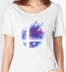 Smash Hype - Blue Relaxed Fit T-Shirt