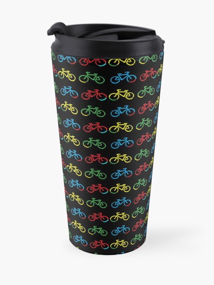 Alternate view of Bike Race Travel Mug