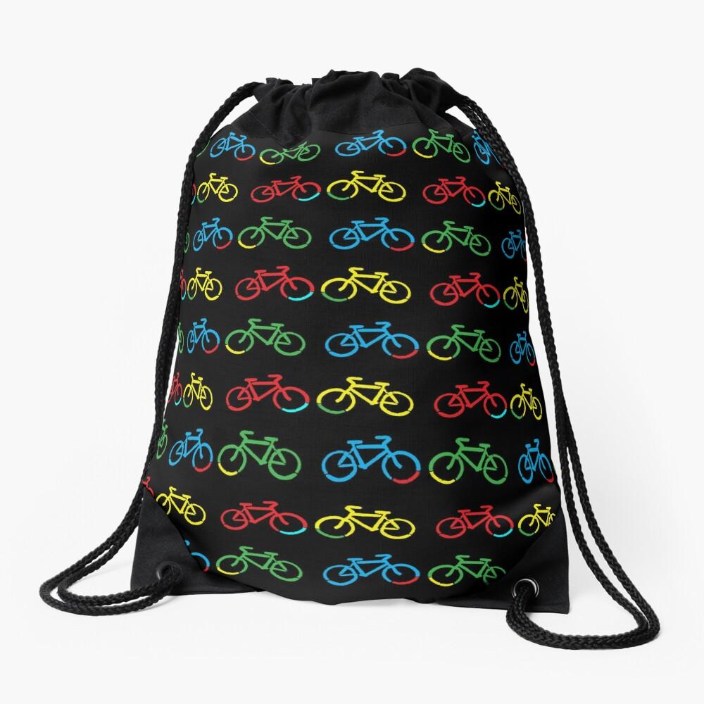 Bike Race Drawstring Bag