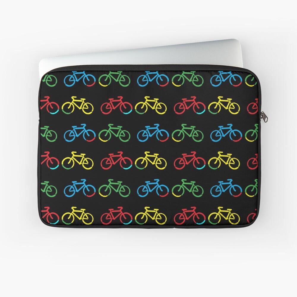 Bike Race Laptop Sleeve