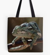 Flapped-necked Chameleon 2 Tote Bag