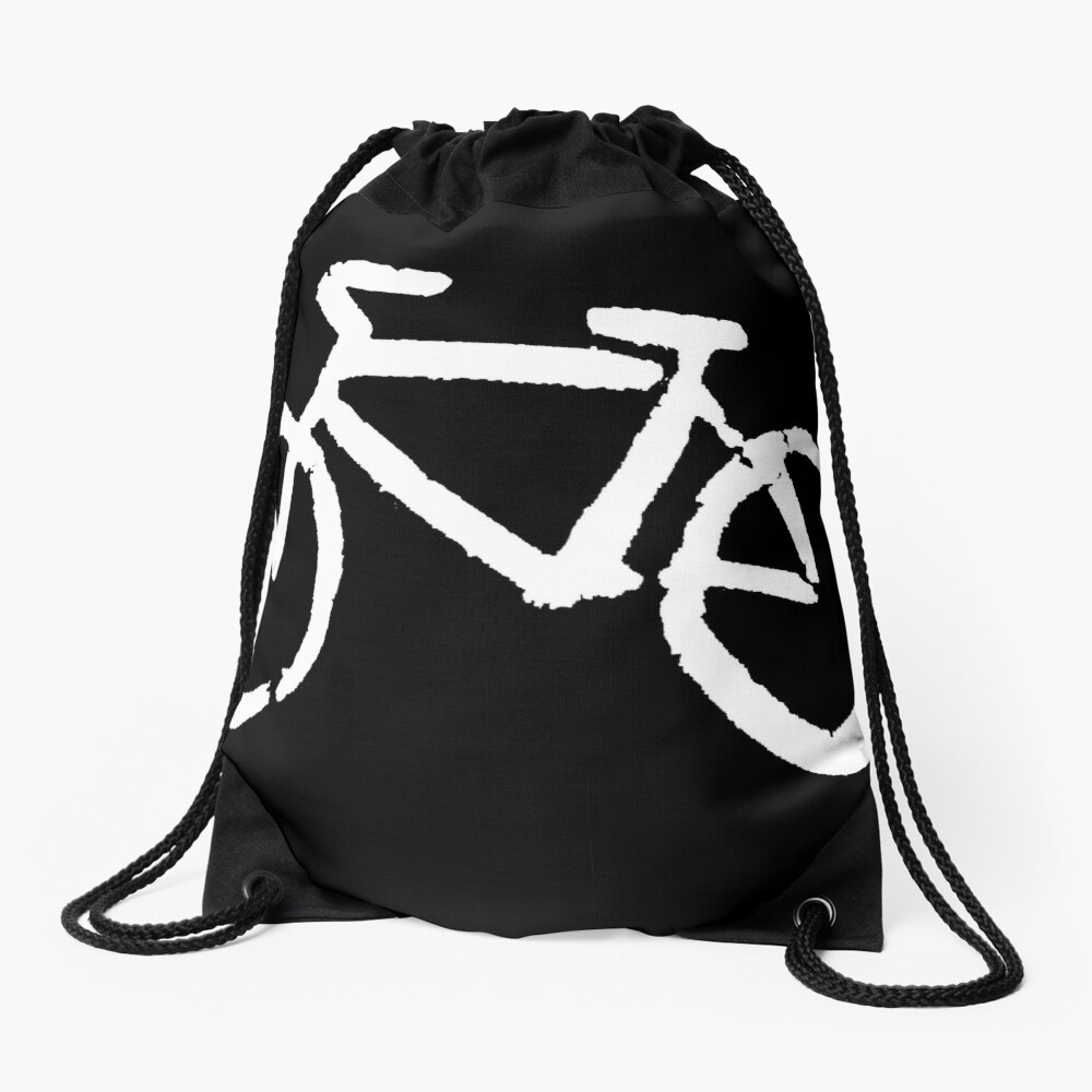 Bike Drawstring Bag