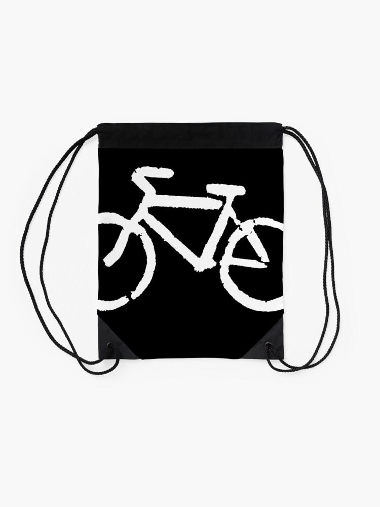 Alternate view of Bike Drawstring Bag