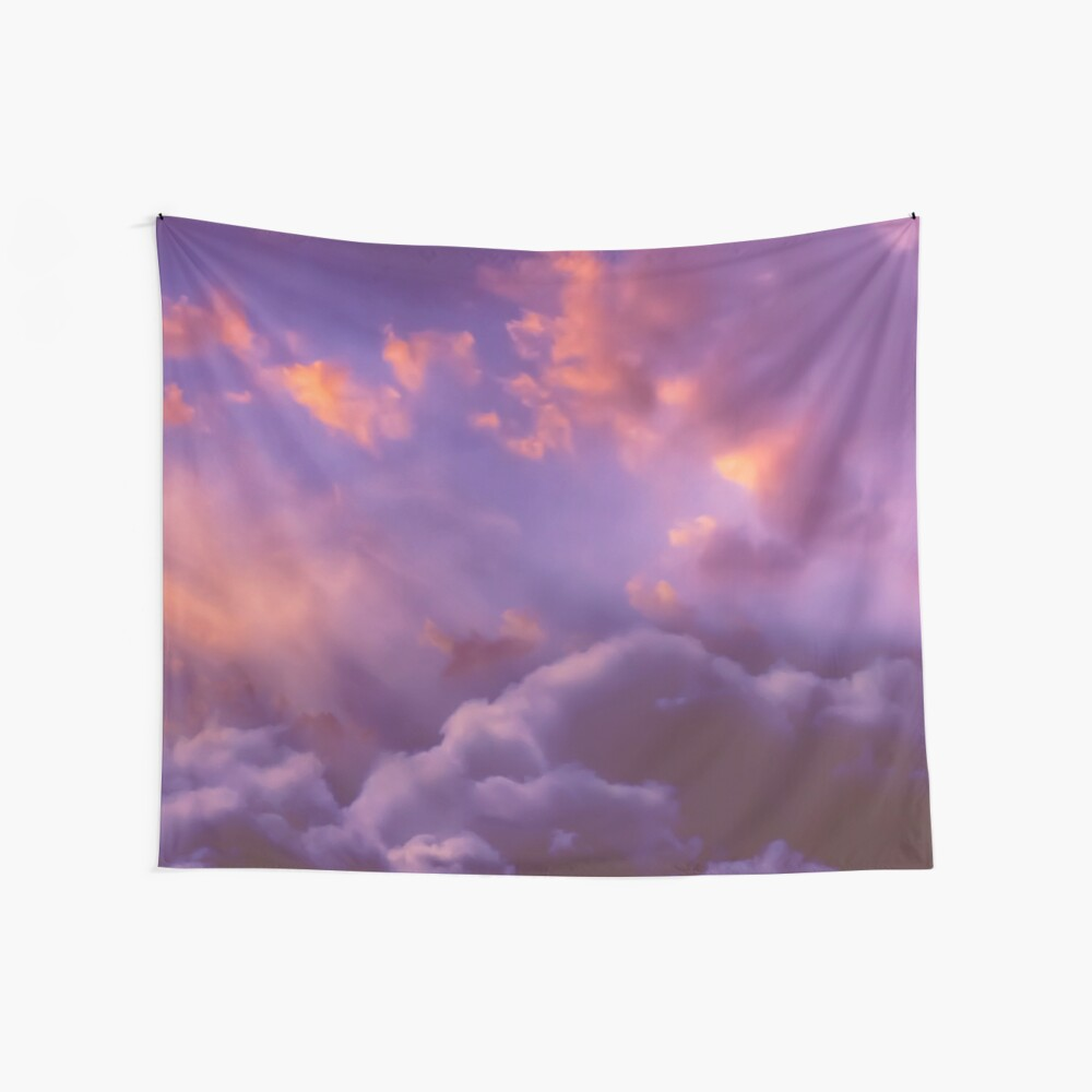 Memories of Thunder Wall Tapestry