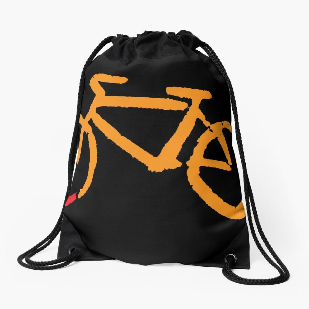 Bike Too Drawstring Bag
