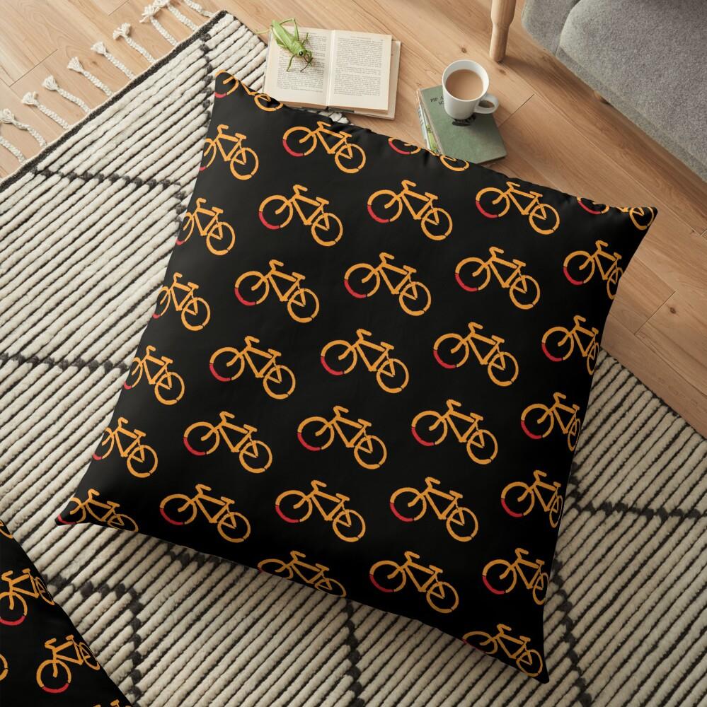 Bike Too Floor Pillow