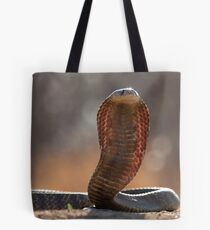 Snouted Cobra Tote Bag
