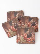 Betsy Ross Sewing Circle Coasters