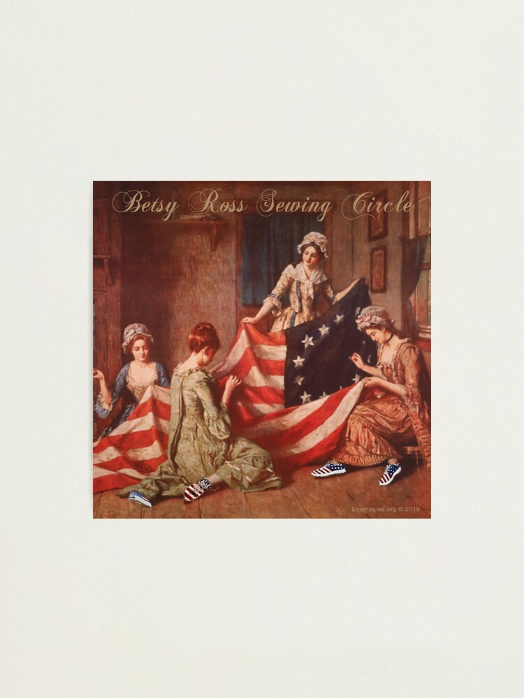 Alternate view of Betsy Ross Sewing Circle Photographic Print