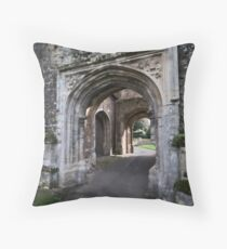 Flatford Church Throw Pillow