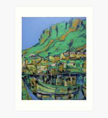 Kalk Bay Harbour, Cape Town Art Print