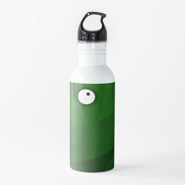 Green Forest Frog Water Bottle