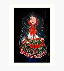 Casa Regional Art Print