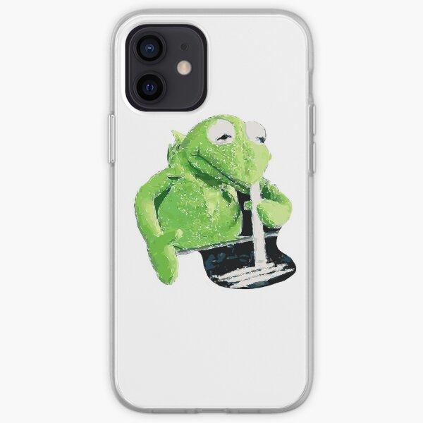 Kermit Snorting Coke iPhone Soft Case