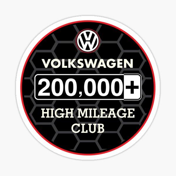 Volkswagen High Mileage Club - 200,000+ Miles Sticker