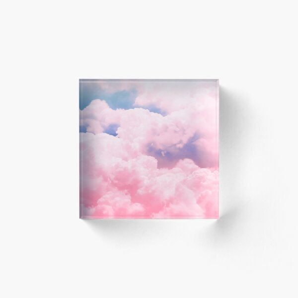 Candy Sky Acrylic Block