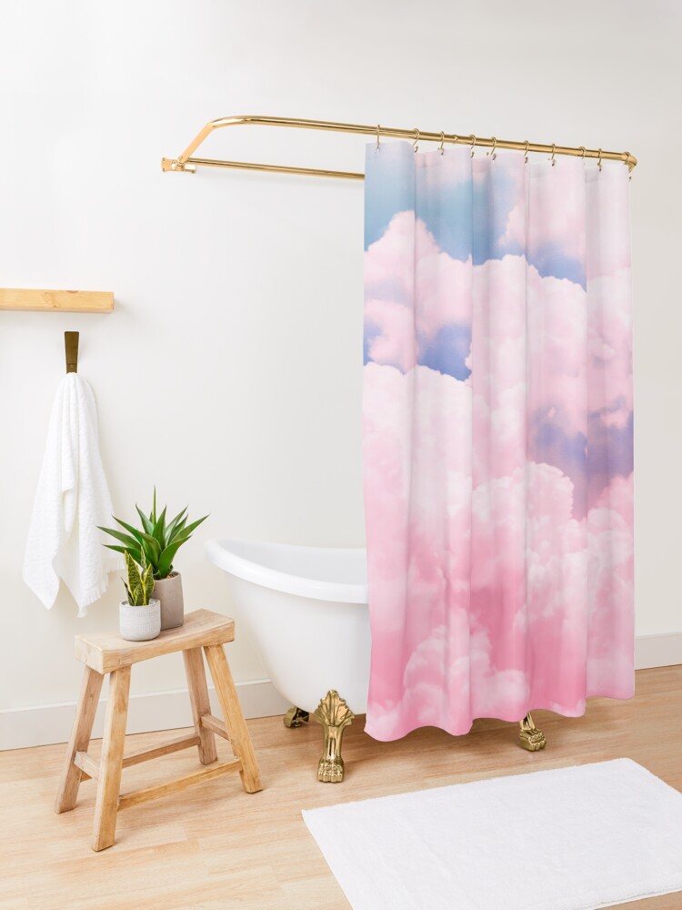 Alternate view of Candy Sky Shower Curtain