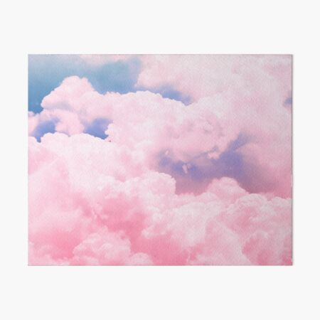 Candy Sky Art Board Print