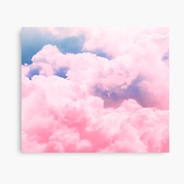 Candy Sky Canvas Print