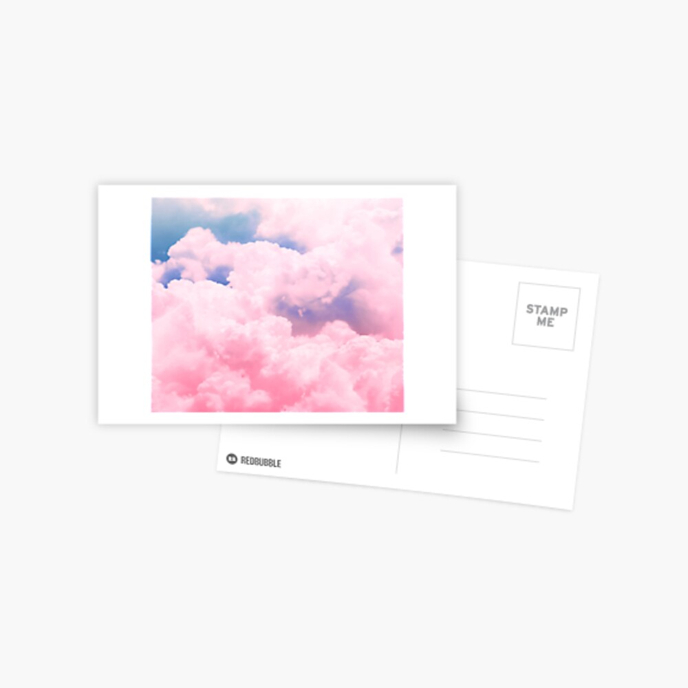 Candy Sky Postcard