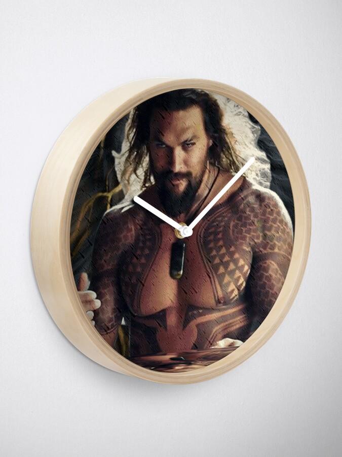 Alternate view of Jason Momoa Clock