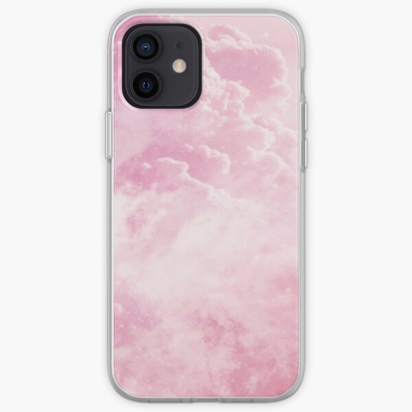 Candy Cotton Clouds iPhone Soft Case