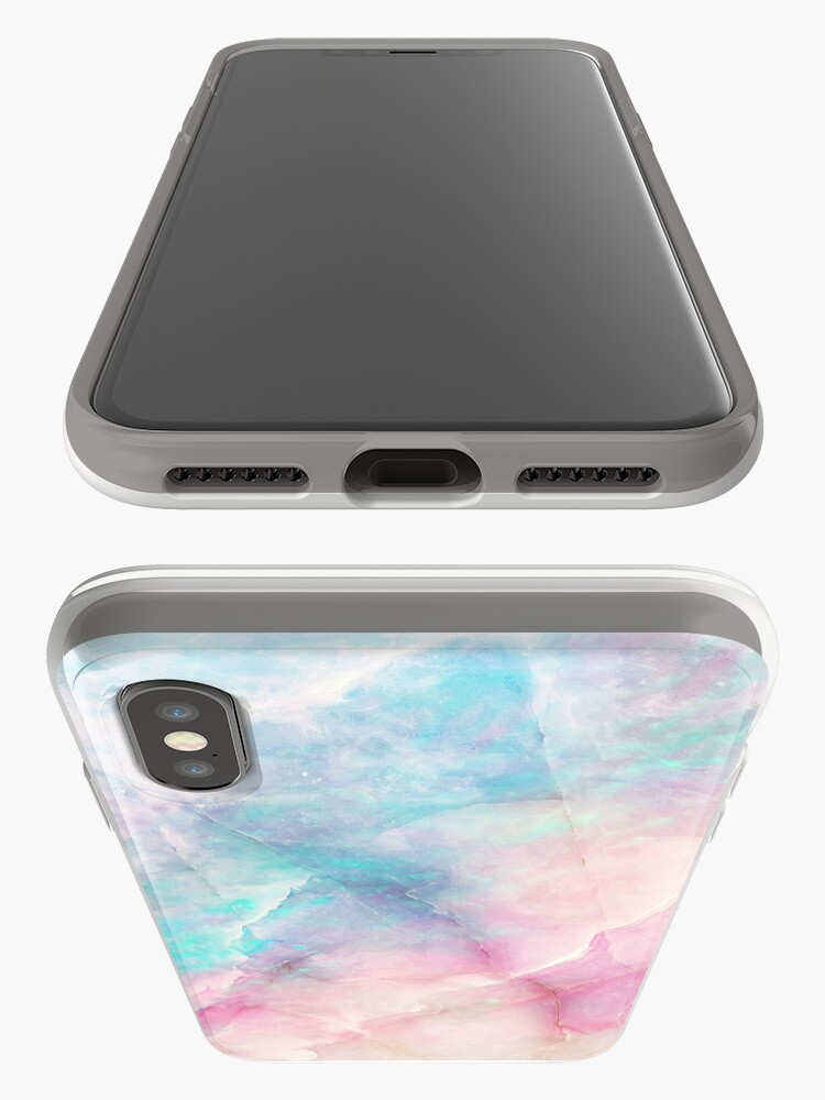 Alternate view of Iridescent Marble iPhone Case & Cover