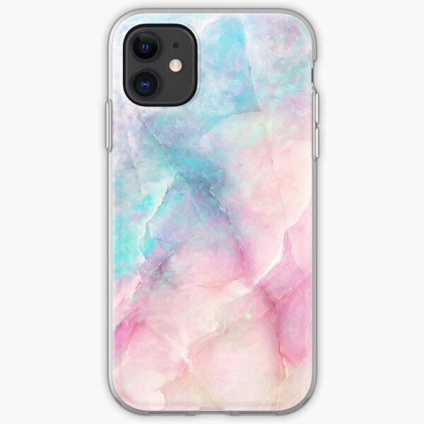 Iridescent Marble iPhone Soft Case
