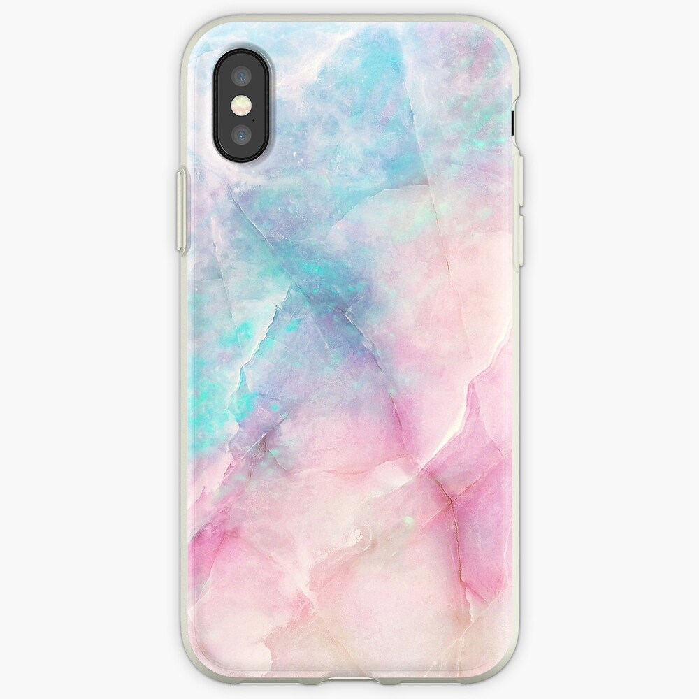 Iridescent Marble iPhone Case & Cover
