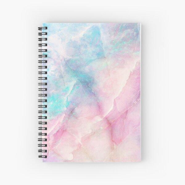 Mármol iridiscente Cuaderno de espiral