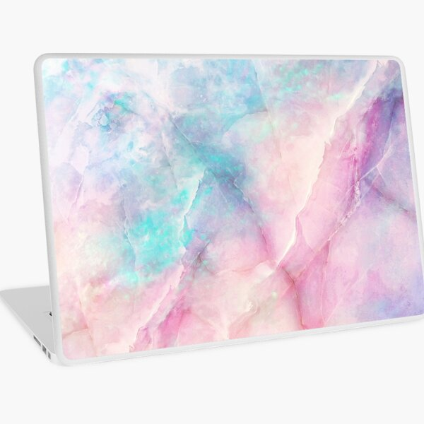 Iridescent Marble Laptop Skin