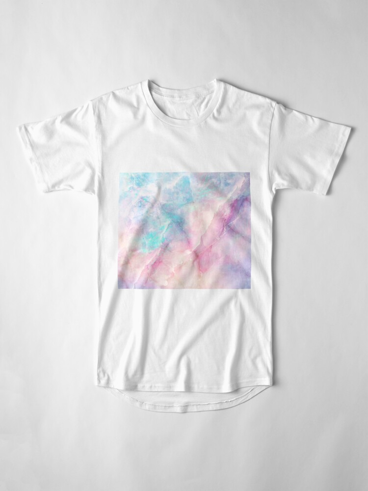 Alternate view of Iridescent Marble Long T-Shirt