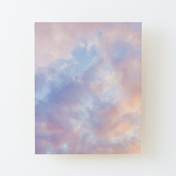 Pink sky Wood Mounted Print