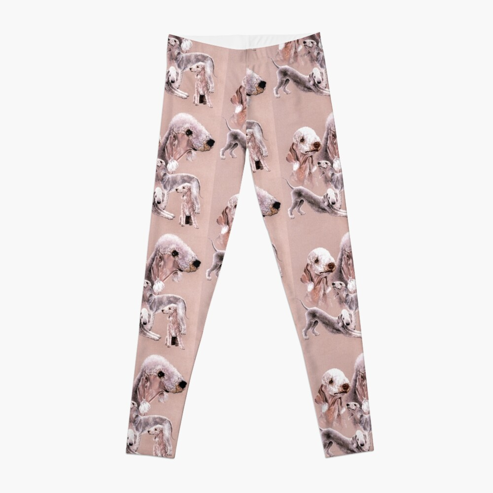 Bedlington Terrier Collage Leggings